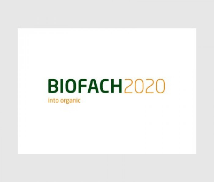 BIOFACH in Nuremberg,Germany , from 12-15/02/2020