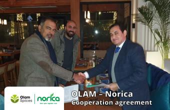 OLAM – Norica Cooperation agreement announcement